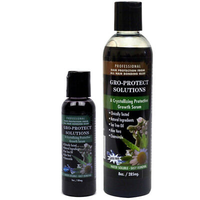 Morning Glory Gro-Protect Solutions Noir Baie Cuir Chevelu / Peau Protection