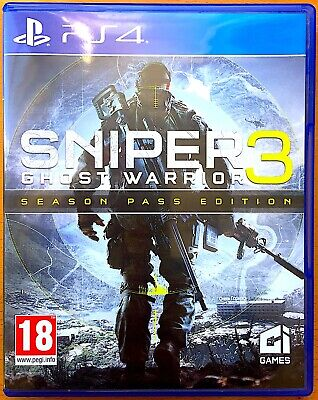 Sniper 3 - Ghost Warrior - Season Pass Edition - PS4 Games - Very Good Condition