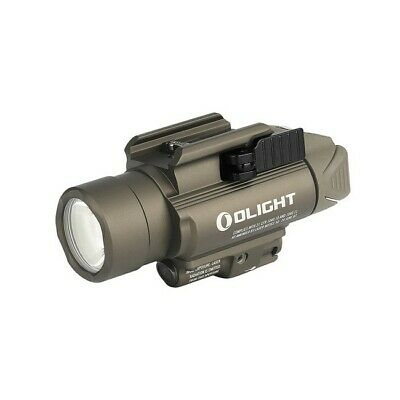 OLIGHT Baldr PRO 1350 Lumens Green Laser Rail Mounted Tactical Light Desert Tan