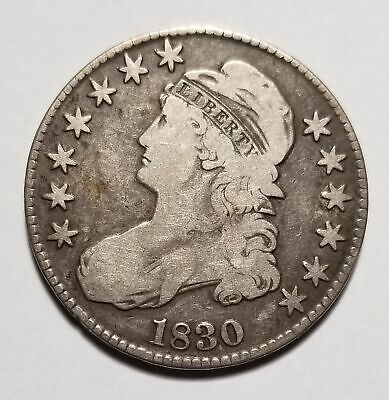 1830 50c United States Capped Bust Half Dollar