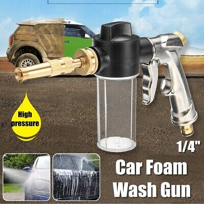 Portable 100ML Snow Car Foam Gun Cannon Lance High Pressure Washer Car   ❤