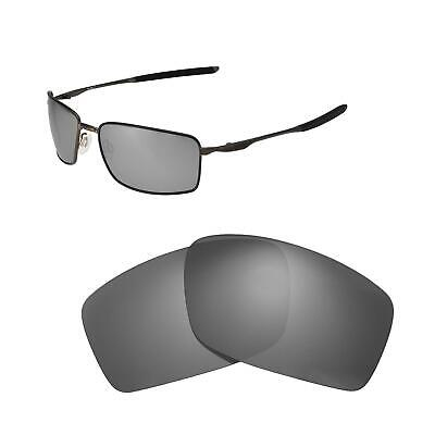 2.0mm Thickness Polarized Replacement Lenses Brown for Square Wire II New OO4075