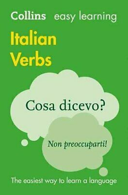 Easy Learning Italian Verbs by Collins Dictionaries 9780008158446 | Brand New