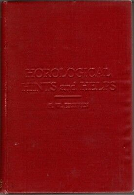 Horological Hints and Helps by F.W. Britten 4th Ed 1943 Watch,Clock Repairs etc.