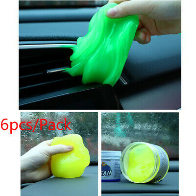Keyboard Car Cleaning Soft Rubber Car Dead Angle Cleaning Dust Cleaning Muds Gel