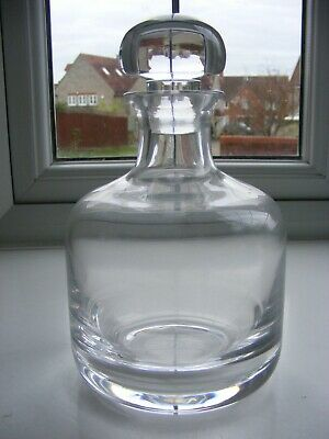 Plain Round Glass Decanter