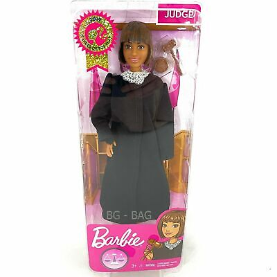 Brand New Barbie Career of The Year Judge Doll, Short Brown Hair