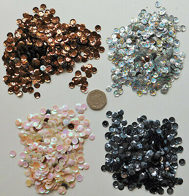 Sequins mixed colours 30g trimmings embellishment for clothes crafts card making