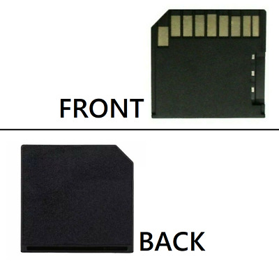 Micro SD Card Adapter Reader TF to Short SD For Mac MacBook Pro Air Up to 128G