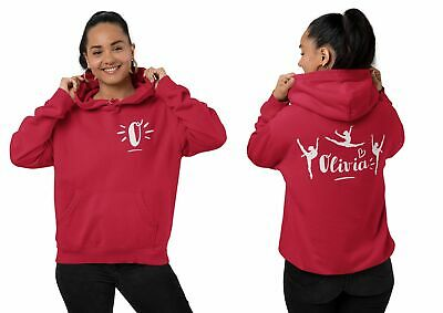 Personalised Dance Hoodie For Girls Custom Name Print Kids Gift Clothes Ballet