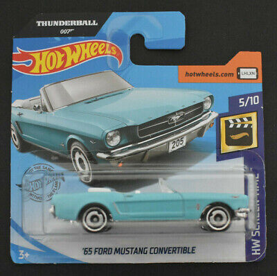 Hot Wheels 2020 ´65 Ford Mustang Convertible Hw Screen Time Neu & Ovp