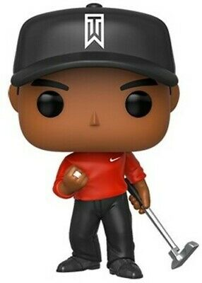 Tiger Woods (Red Shirt) - Funko Pop! Golf: (Toy New)