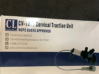 CV-1000 Cervical Traction Unit. HCPC E0855 Approved. Brand New.