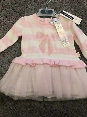 Tutto Piccolo Pink Tutu Dress With Matching Tights 18 Months BNWT