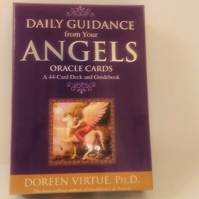 Daily Guidance from Your Angels Oracle Cards 44 Deck and Guidebook Doreen Virtue