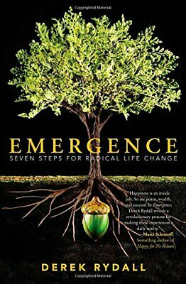 Emergence: Seven Steps for Radical Life Change by Derek Rydall Book The Cheap