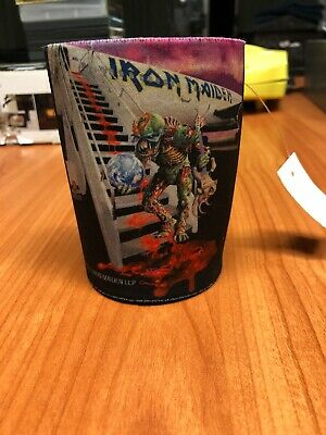 Official Iron Maiden 2011 The Final Frontier Tour Stubby Cooler Beer/Can Rare