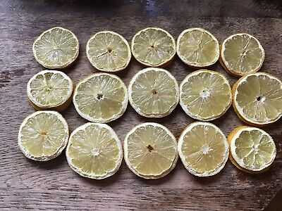 15 Dried Orange  Lemon Slices Christmas Wreath Scented Decorations Cheap