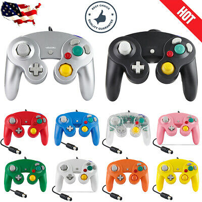 1/2Pack Wired NGC Controller Gamepad for Nintendo GameCube GC & Wii U Console US