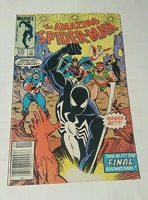 amazing spiderman # 270 canadian newsstand  price edition