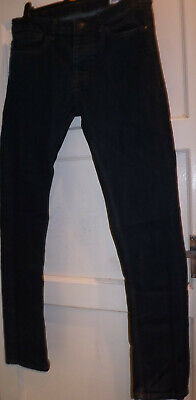 Denim Co Skinny Dark Blue Jeans W32 L32