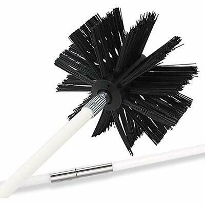 20 Feet Dryer Vent Cleaning Brush, Lint Remover,Fireplace Chimney Brushes, Up To