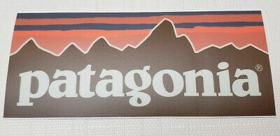 """Large Size Patagonia Pataloha BOWERY NYC Sticker//Decal Outdoor Hiking Approx 6/"""""""