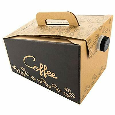 Coffee Take Out Carrier, Disposable Dispenser, Insulated Hot Cold Bulk Beverage