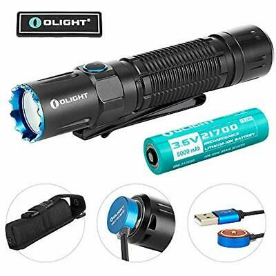 M2R Pro Warrior 1800 Lumens USB Magnetic Rechargeable Dual Switches Flashlight