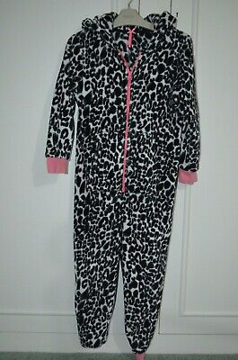 Next Snow Leopard Fleece All-In-One / One Piece Age 7 Yrs