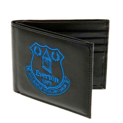 Everton F.C. Embroidered Wallet. Brand New. Official Club Merchandise