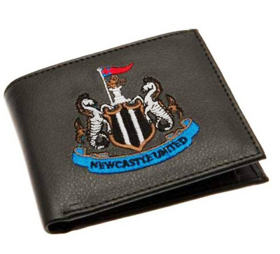 Newcastle F.C. Embroidered Wallet. Brand New. Official Club Merchandise