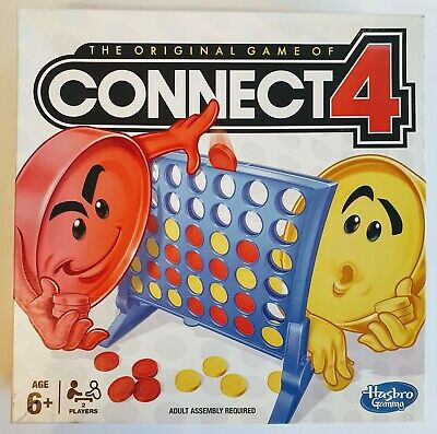 The Original Game of Connect 4 -Classic Grid Board Game by Hasbro - 2013 Edition
