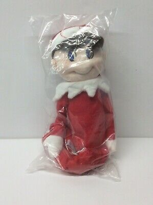 "Plushee Pals The Elf on the Shelf 2009 12"" Doll Boy Blue Eyes NIB"
