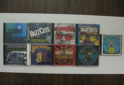 $6.00 Each - Rock CD  Good-NEW   Free Ship    LOT  Varous Groups & Years