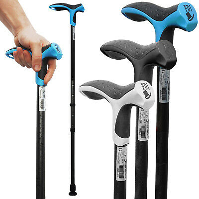 Premium aluminium walking stick Made In France from Physio