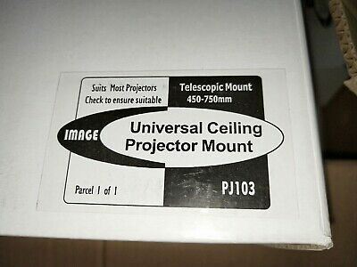 Universal Ceiling Projector Mounting Bracket 450-750mm BRAND NEW