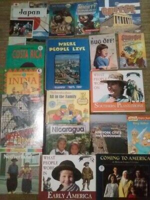 Lot of 18 Children Books: for toddlers/young children, Paperback/Hardcover FAST.
