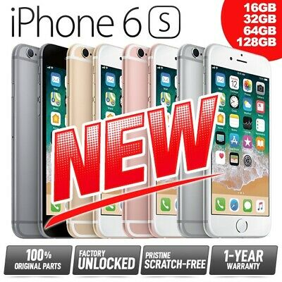 (NEW) Factory Unlocked SIM-Free APPLE iPhone 6S 16GB 32GB 64GB 128GB