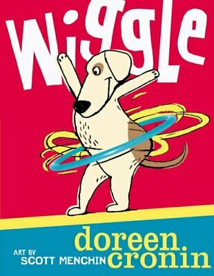 Wiggle by Cronin, Doreen Paperback Book The Cheap Fast Free Post