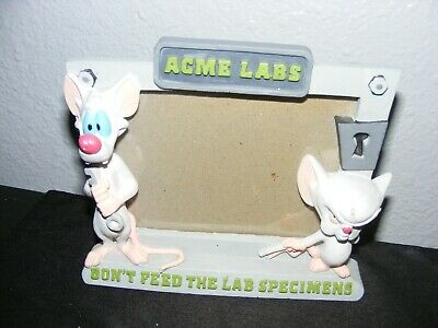 Animaniacs Pinky and the Brain Standing Picture Frame