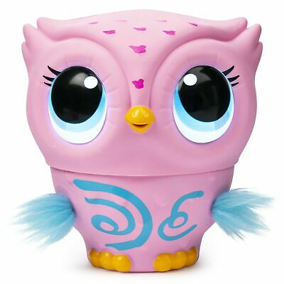 Owleez Flying Baby Owl Interactive Toy w/Lights Sounds PINK FREE 1DAY DELIVERY