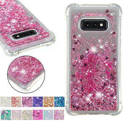 Liquid Glitter Bling Case Cover For Samsung Note10 Pro S8 S9 S10 Plus Note 8 9