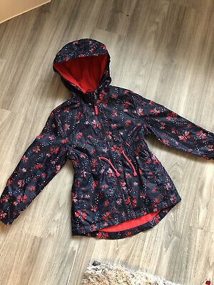Girls Rain Coat Age 7-8 Never Worn