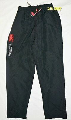 BNWT - Canterbury Kids Basic Open Hem Stadium Pants Black - Size: 16 Years