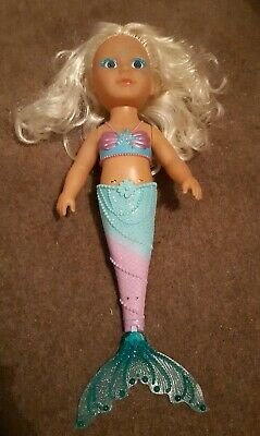 BABY born Little Sister Mermaid Swims Bath Water Christmas New Without Box