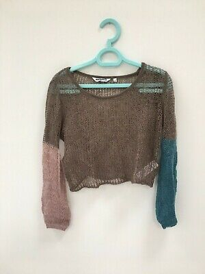 New Look Girls Age 10-11 years. Glittery Jumper Long sleeves