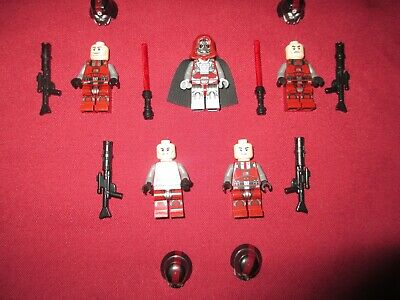 LEGO Star Wars Minifigures LOT, Darth Marr , Sith Troopers & Weapons