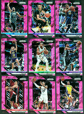 2018-19 Panini Prizm Basketball Cards - Silver, Green, Red White Blue - You Pick