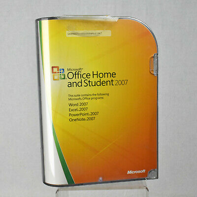 Microsoft Windows Office Home Student 2007 w/ Product Key Word Excel Genuine